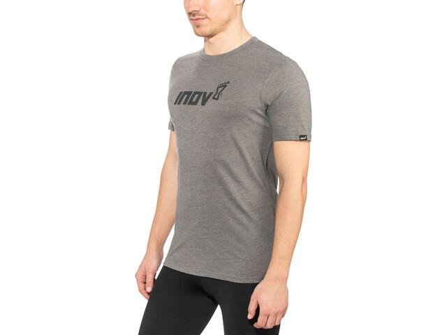 inov-8 Tri Blend Inov-8 Camiseta Manga Corta Hombre, gris